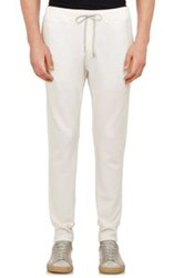 Theory French Terry Moris P Sweatpants White