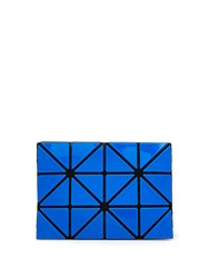 Issey Miyake Lucent Two Tone Card Holder Blue Multi