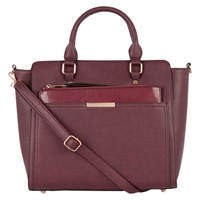 Oasis Scarlett Work Bag Burgundy