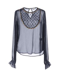Manoush Blouses Dark Blue
