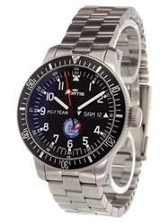 Fortis 'Pc 7 Team' Analog Watch Stainless Steel