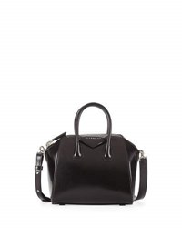 Givenchy Antigona Mini Box Calfskin Satchel Bag Black