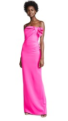 Black Halo Divina Gown Iconic Pink