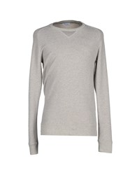 Mauro Grifoni Topwear Sweatshirts Men Light Grey