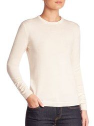 Ralph Lauren Cashmere Crewneck Sweater Lux Cream