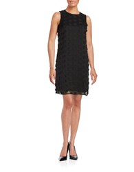Karl Lagerfeld Floral Embellished Dress Noir