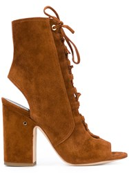 Laurence Dacade Lace Up Boots Brown
