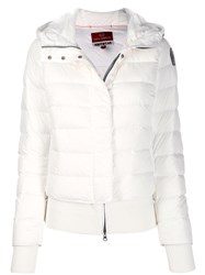 Parajumpers Double Layered Down Jacket White
