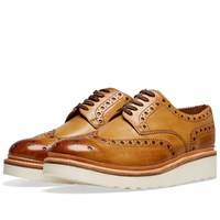 Grenson Archie V Brogue Brown