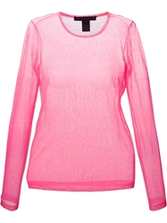 Marc By Marc Jacobs Sheer Long Sleeve T Shirt