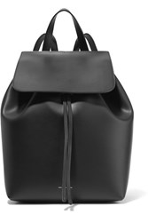 Mansur Gavriel Mini Leather Backpack Black