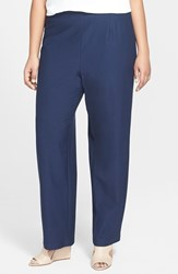 Plus Size Women's Eileen Fisher Straight Yoke Knit Pants