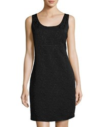 Nanette Nanette Lepore Sleeveless Brocade Back Button Dress Black