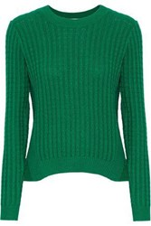Baum Und Pferdgarten Carew Cable Knit Sweater Green