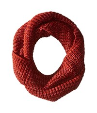 Smartwool Crystal Lake Cowl Moab Rust Scarves Red