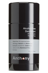 Anthony Logistics For Men Tm Alcohol Free Deodorant No Color