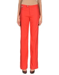 Versace Jeans Couture Casual Pants Red
