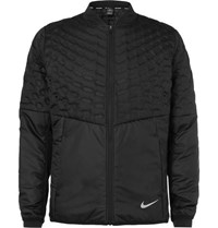 Nike Aeroloft Perforated Quilted Shell Jacket Black