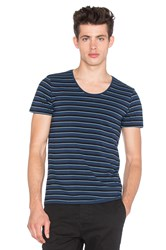 Scotch And Soda Classic Crewneck Tee Navy