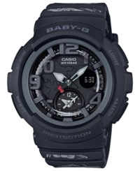 G Shock Baby Analog Digital Hello Kitty Black Resin Strap Watch 44.3Mm A Limited Edition