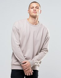 Religion Crew Neck Sweat With Side Zip Detail Ashes Of Roses Pink
