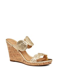 Jack Rogers Luccia Wedges Gold