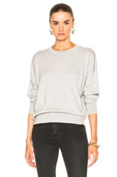 Equipment Melanie Crew Sweater In Gray