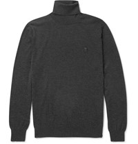 Alexander Mcqueen Wool Rollneck Sweater Gray