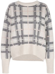 Le Kasha Checked Cashmere Jumper 60