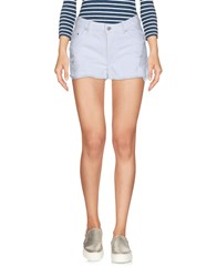 Eleven Paris Denim Shorts White