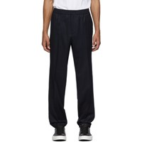 Salvatore Ferragamo Navy Tailored Trousers