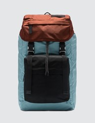 Marni Color Block Nylon Backpack Multicolor