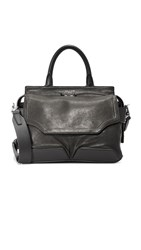 Rag And Bone Pilot Satchel Black
