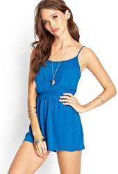 Forever 21 Sunny Days Cutout Romper