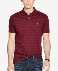 Polo Ralph Lauren Men's Striped Soft Touch Classic Wine