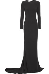 Stella Mccartney Renee Cutout Stretch Cady Gown Black