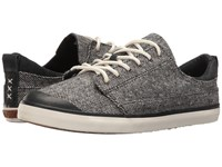 Reef Walled Low Tx Black Tweed Women's Lace Up Casual Shoes