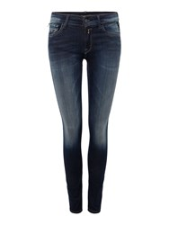 Replay Luz Hyperflex Skinny Fit Jeans Denim