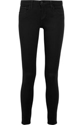 L'agence The Chantal Low Rise Skinny Jeans Black