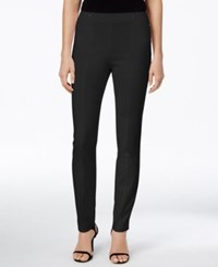 Alfani Petite Skinny Pull On Ankle Pants Only At Macy's Deep Black