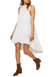 O'neill Issi High Low Dress White