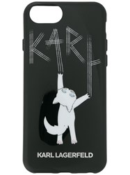 Karl Lagerfeld Choupette Fun Iphone Case Black