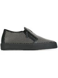 Giuseppe Zanotti Design 'Connor' Slip On Sneakers Black