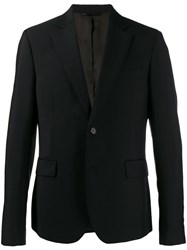 Acne Studios Tailored Fitted Blazer Black