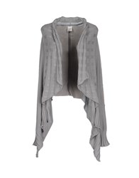Manila Grace Knitwear Cardigans Women Grey