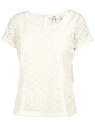 Fat Face Banham Lace Tee