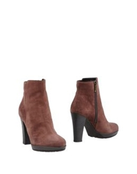 Maria Cristina Ankle Boots Light Brown