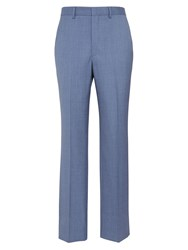 Chester Barrie Men's Tapered Fit Tailored Trousers Airforce Blue