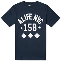 Alife Like No Other Diamond Tee Eclipse Blue