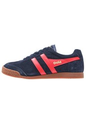 Gola Cma192 Trainers Navy Red White Light Blue